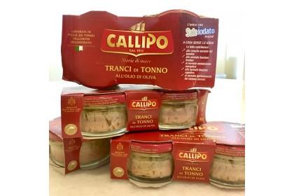 Callipo Tuna Steaks in Olive Oil (80g x 2)