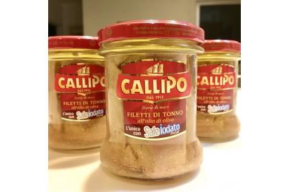 Callipo Tuna Fillets in Olive Oil (170g)