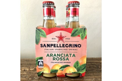 Sanpellegrino Aranciata Rossa (200ml x 4)